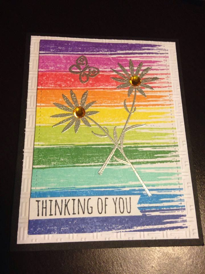 Thinking of You Card Stamps Hero Arts My Notebook, Tim