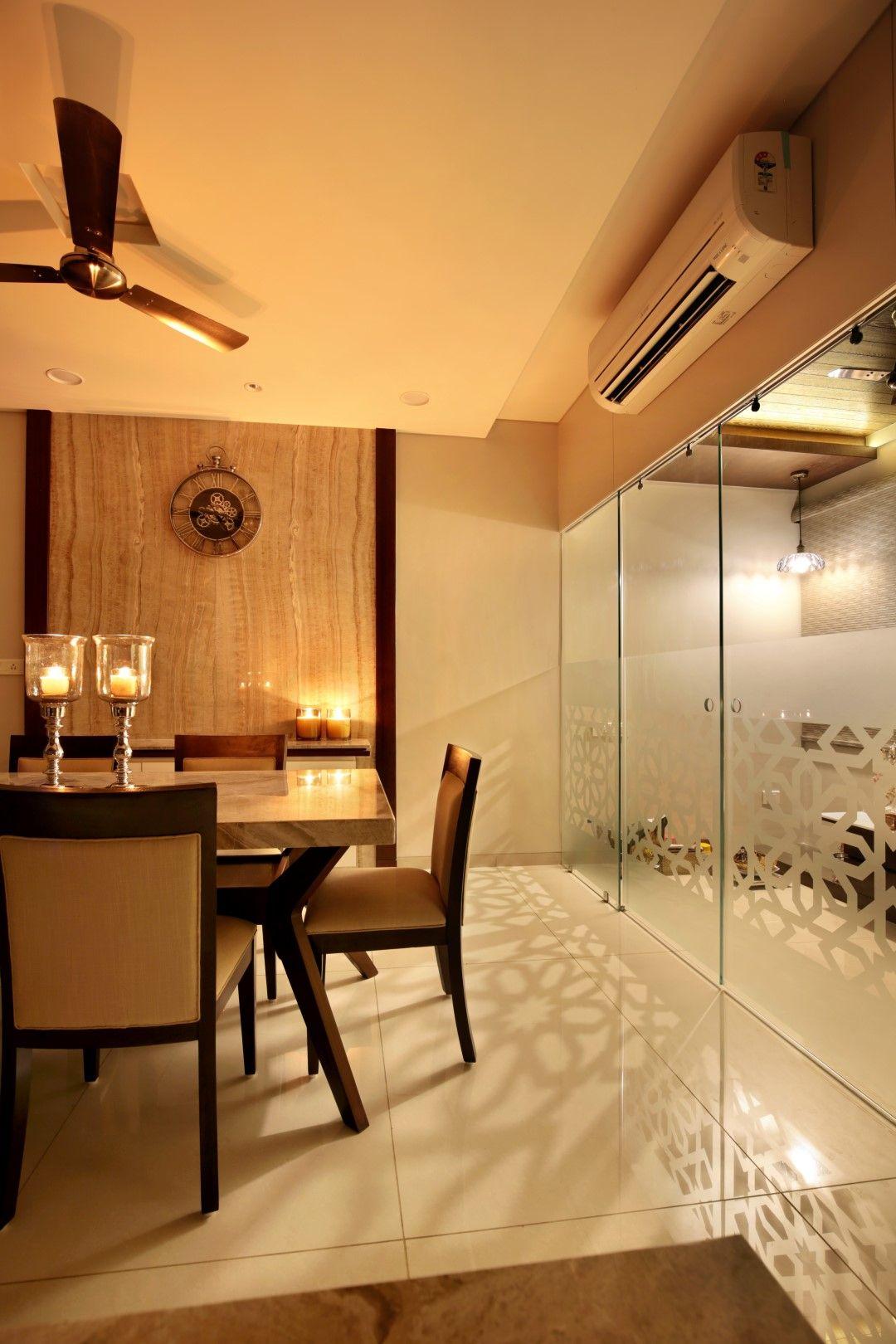 bhk flat interior design also interiors the oak woods dining pinterest rh