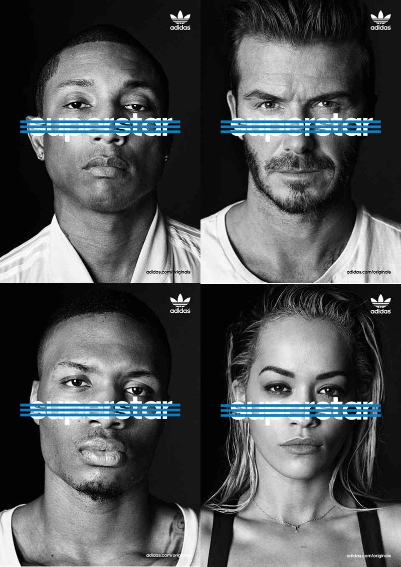 Adidas Originals Superstar A New Campaign For The Anniversary Of The Iconic Shoe Adidas Advertising Adidas Ad Sports Campaign