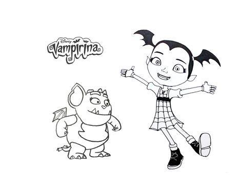 Coloriage Vampirina