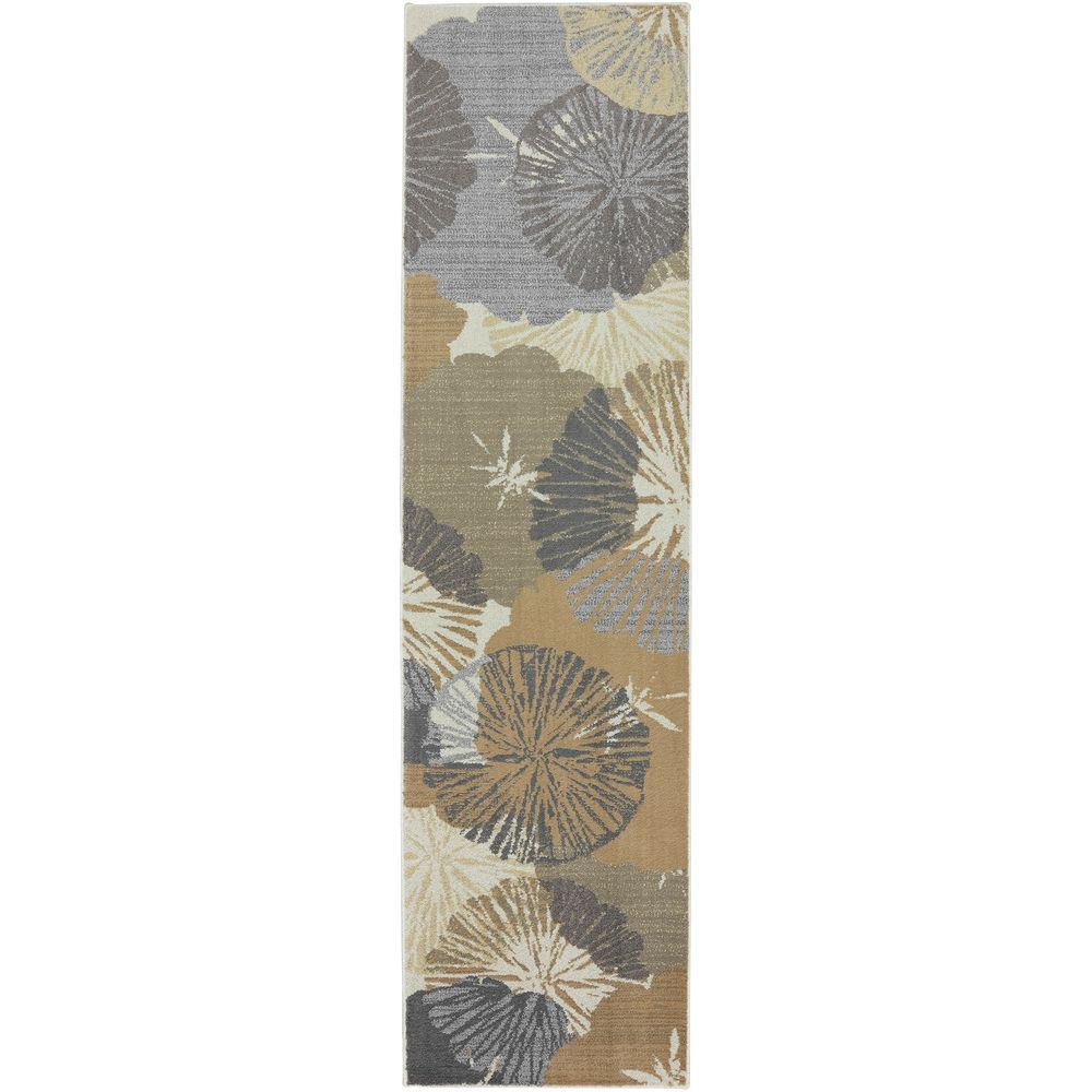 Teppich Läufer Flur Bunt Mohawk Home Open Vista Dark Beige 2 Ft 1 In X 7 Ft 10 In