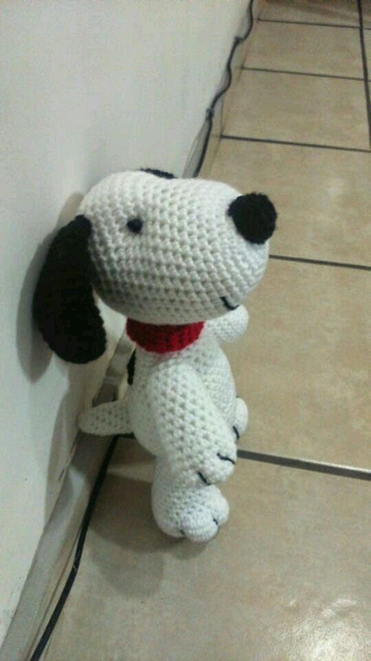 Snoopy | Crochet Amiguri animals and dolls | Pinterest | Häkeln ...