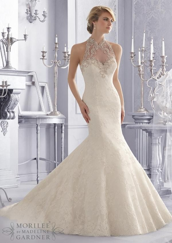 Top 5 Designer Wedding Gowns by Mori Lee | Turtleneck wedding ...