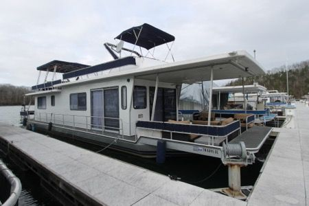 Houseboat For Sale - 1986 Sumerset 14' x 58' w/ Catwalks