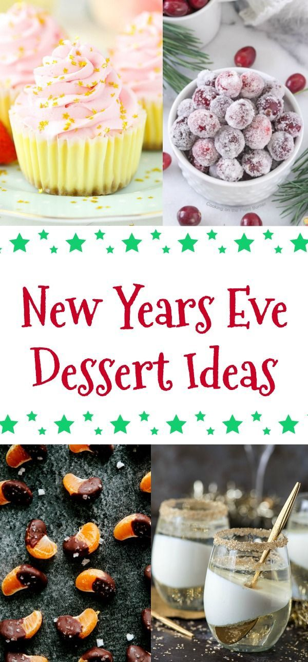New Years Eve Dessert Ideas | Building Our Story