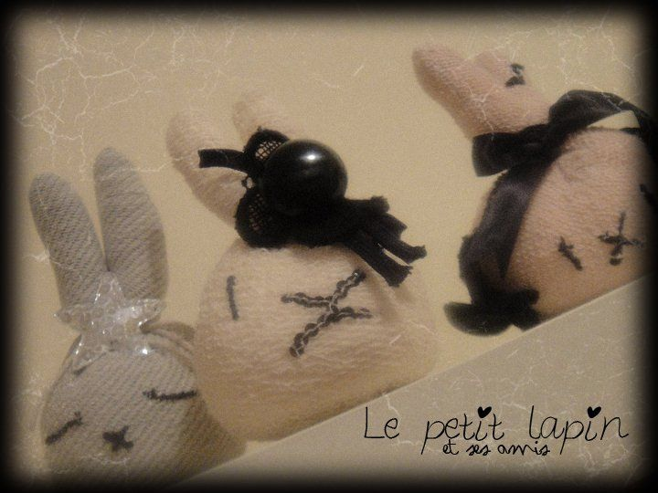 Le petit lapin et ses amis!!