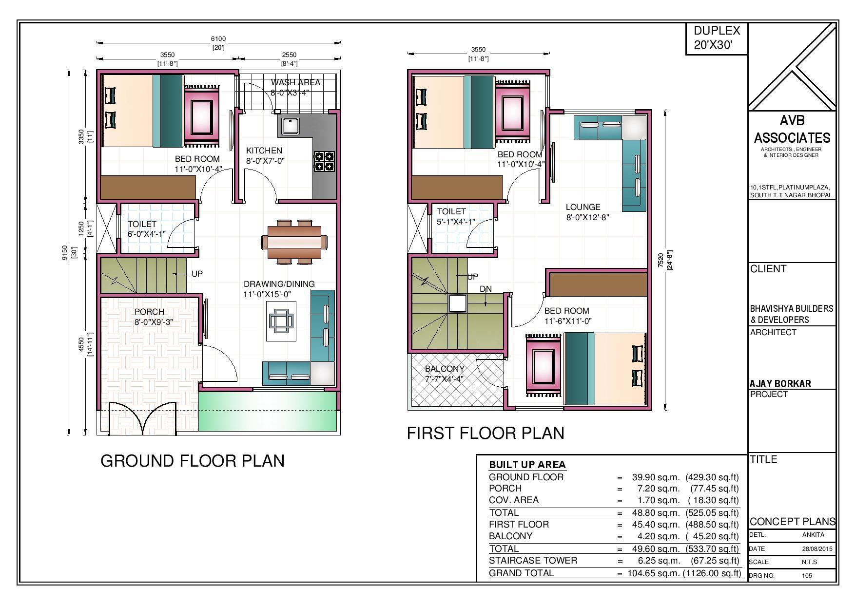 bhk floor plans of  site plan  house also duplex rh pinterest