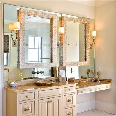 Why Not Add A Frame On Top Of Your Basic Builder S Bathroom Mirror