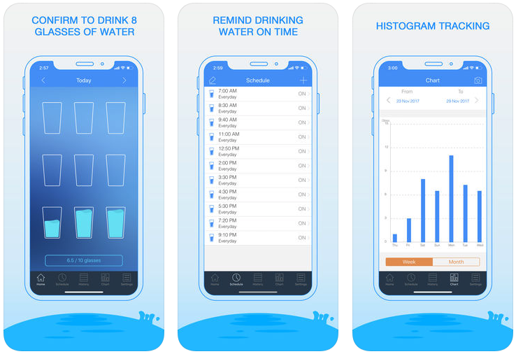 10 of the Best Water Tracking Apps to Use for Free App