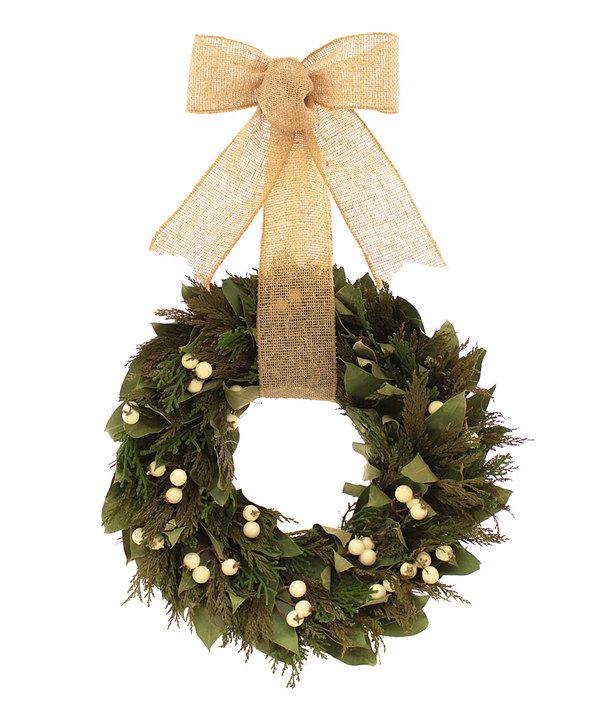 Look at this First Snow Wreath on #zulily today!