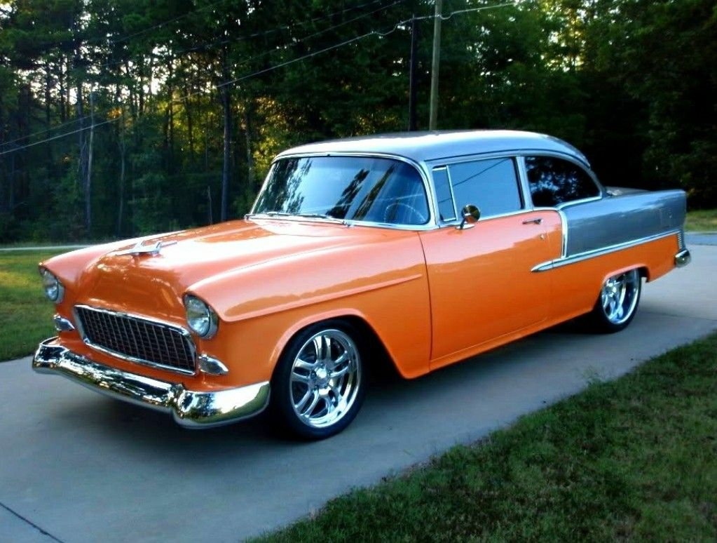 1955 Chevy Chevy Muscle Cars 55 Chevy Dream Cars