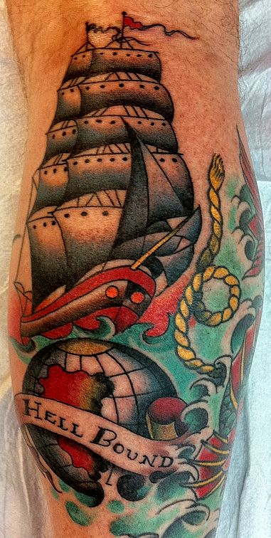 search and destory tattoo inspiration on pinterest nautical tattoos lighthouse tattoos and. Black Bedroom Furniture Sets. Home Design Ideas
