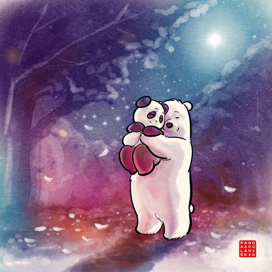 Commission Northern Star Polar Bear Cartoon Cute Panda Wallpaper Cute Panda Cartoon