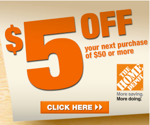 Home Depot Coupon 5 Off 50 Purchase Home Depot Coupons Printable Coupons Coupons