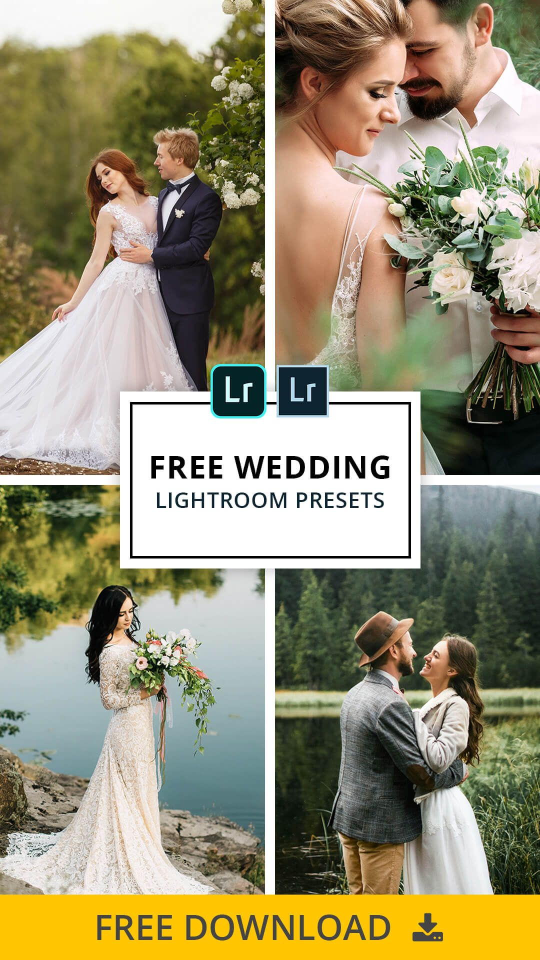 57 Free Wedding Lightroom Presets Ideas Lightroom Presets Lightroom Presets