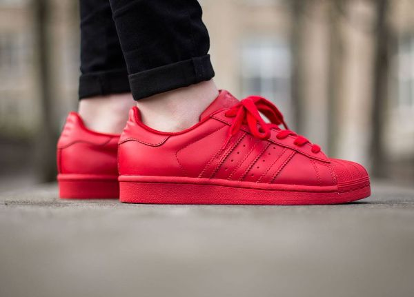 adidas superstar pharrell williams red