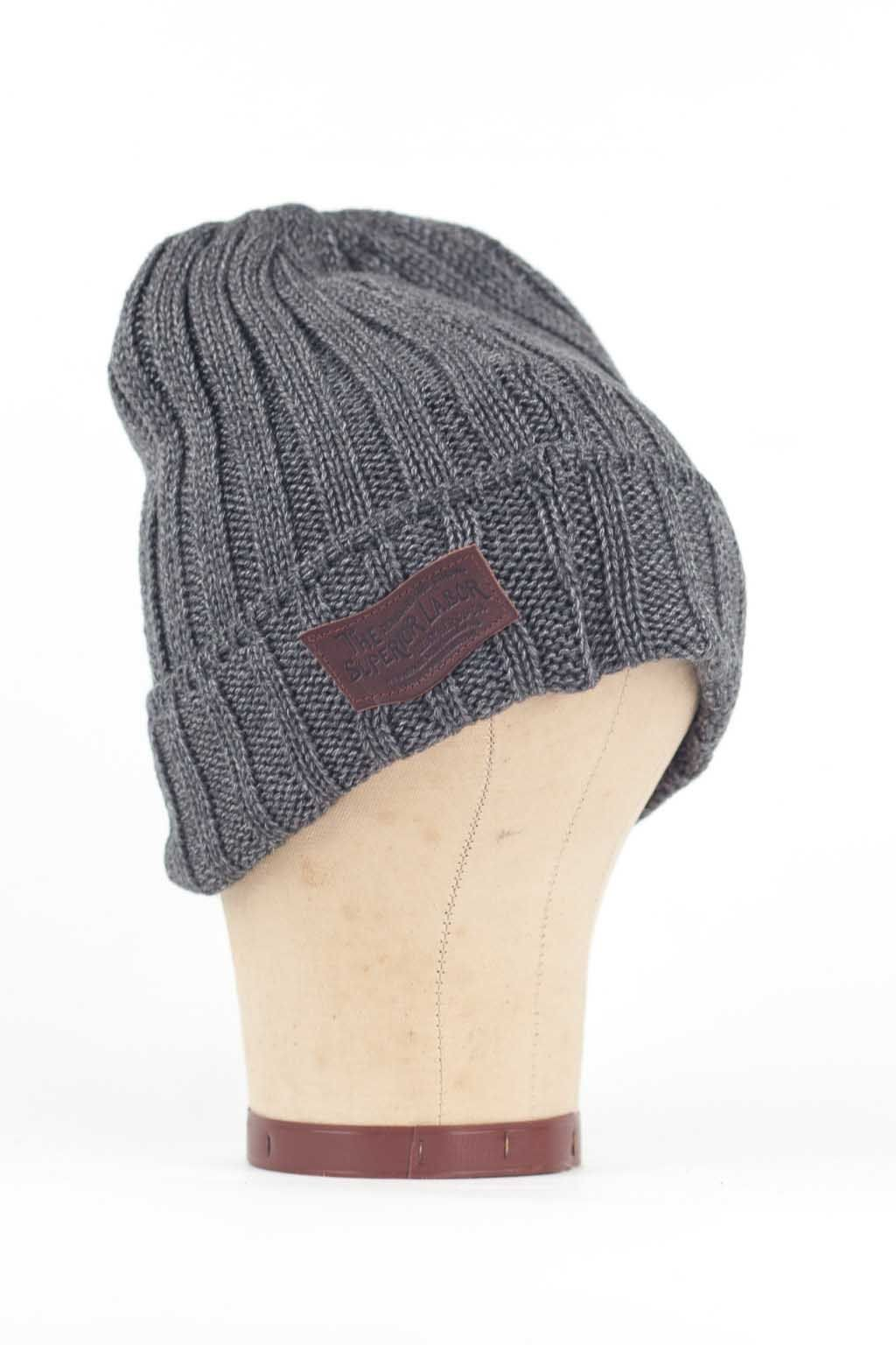 81a3eec54db Blue Button Shop - Knit Cap - Charcoal - SUP15WHATUCHR103782 ...