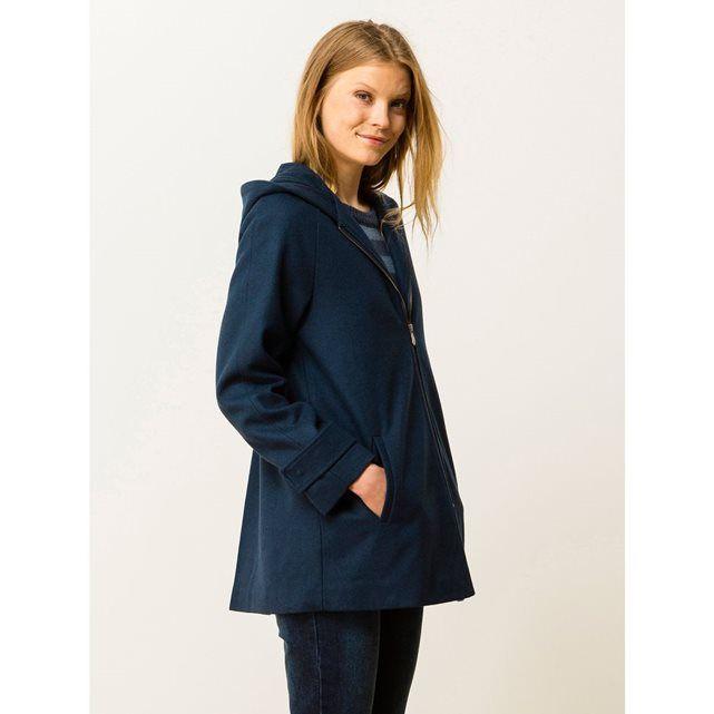 19206af6b4bbb Manteau femme drap de laine avec capuche, GERMONT SOMEWHERE   prix, avis    notation