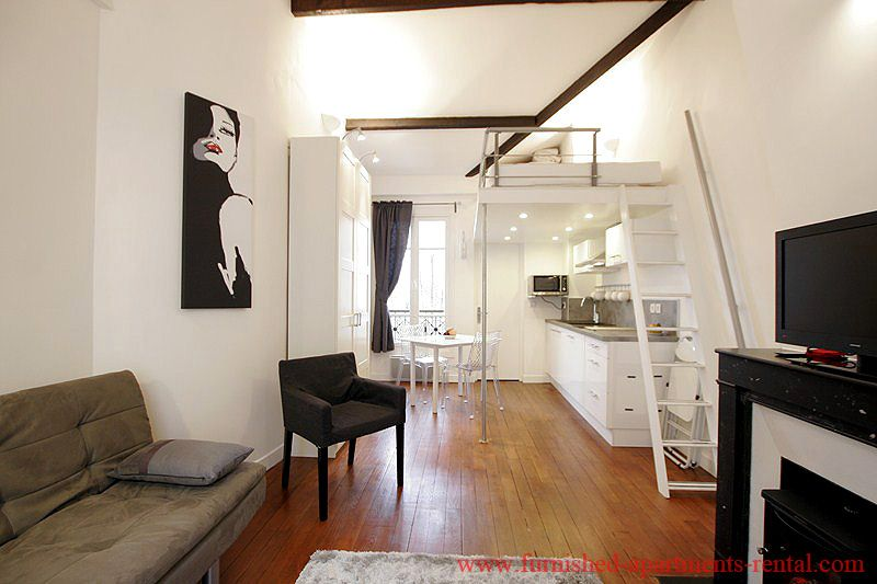 Furnished apartment rental, Paris furnished apartments, rentals - location studio meuble ile de france