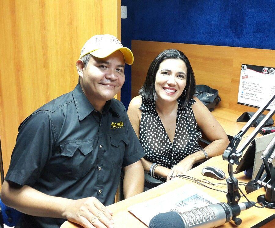 """En minutos vamos al aire en """"La Nota del Día"""" por DCC 98.3 FM con nuestra amiga @ingridliendo06"""