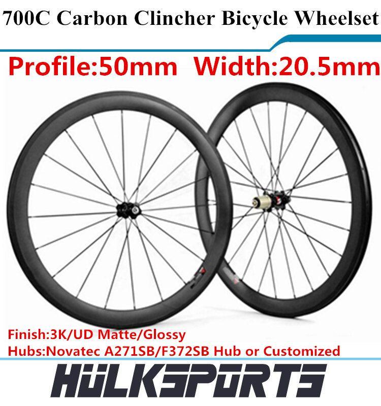 Top Chinese Carbon Wheels Cheap Road Bike Wheels Clincher Roue