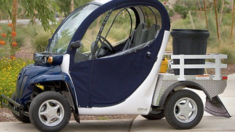 What is a neighborhood electric vehicle (NEV)? Electric