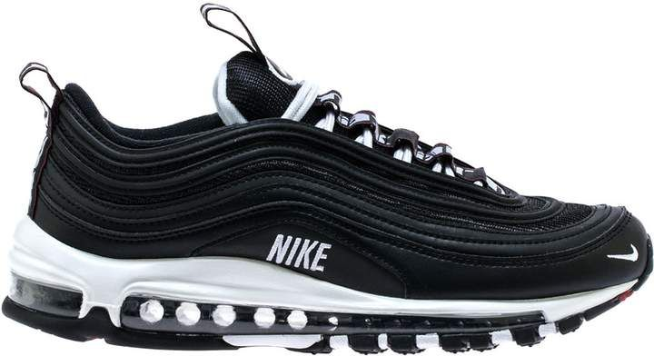 best service 7a5bb ec8ef Nike 97 Overbranding Black   Outfits   Air max 97, Air max ...