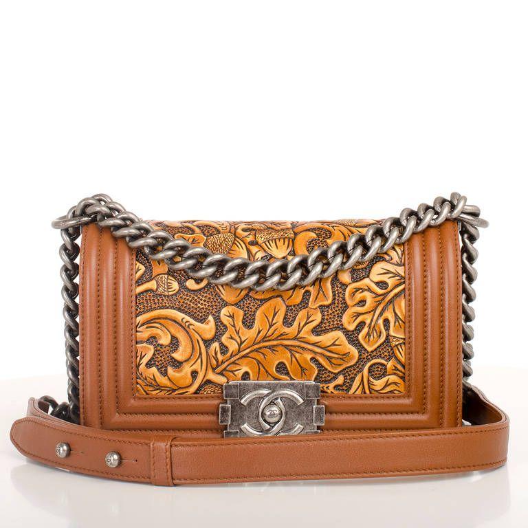 722236342d3d Chanel Brown Cordoba Small