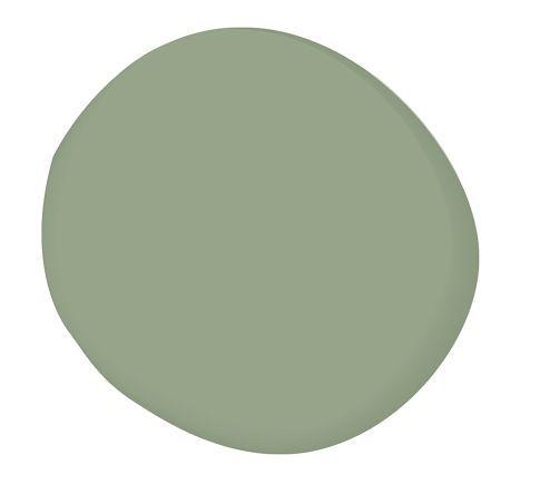 living room paint color option. benjamin moore kennebunkport green.