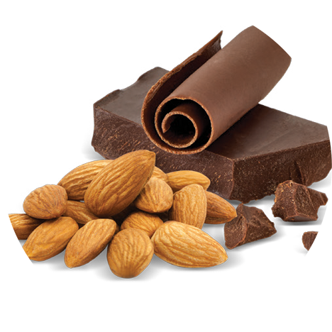 Choco Almond Dark Chocolate 500x500 Png Download Chocolate Dark Chocolate Choco