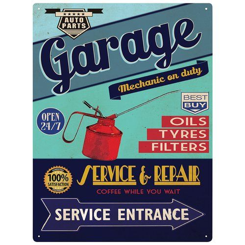 East Urban Home Garage Service & Repair Vintage