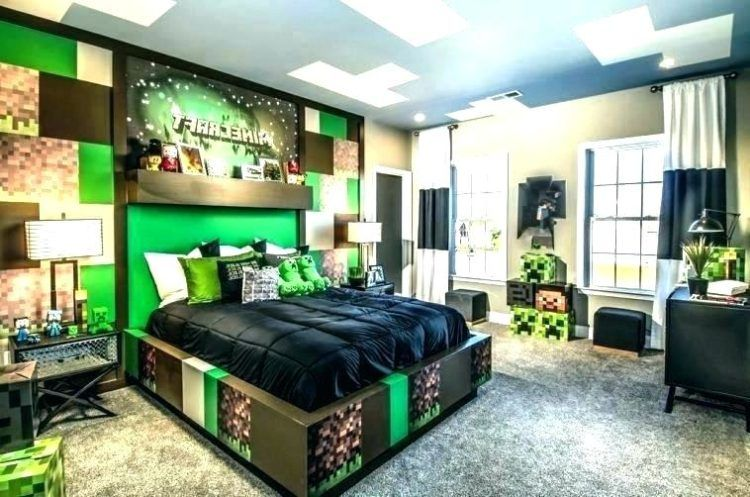 20 Awesome Minecraft Bedroom Ideas Minecraft Bedroom Decor Minecraft Bedroom Boys Minecraft Bedroom