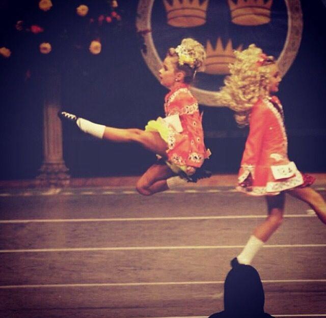 U9 irish dancer action shot