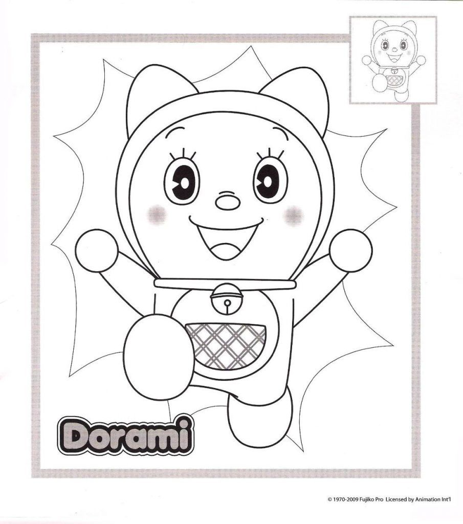 Free Printable Doraemon Coloring Page For Kids Coloring pages for ...