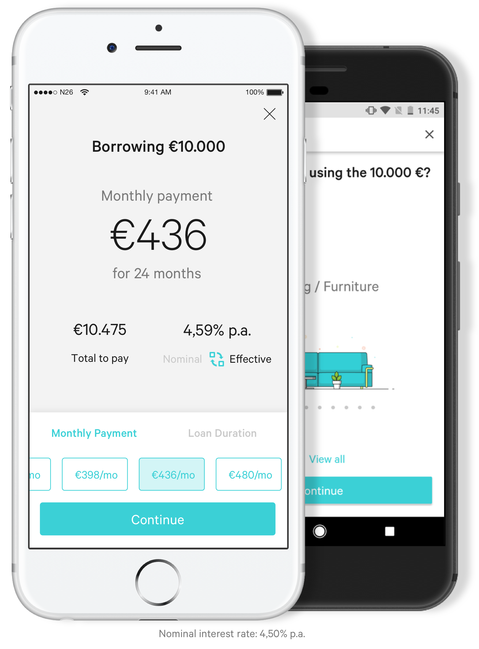 N26 Users Can Now Get A Credit Line In Five Minutes Techcrunch Banking App Communications Strategy Banking