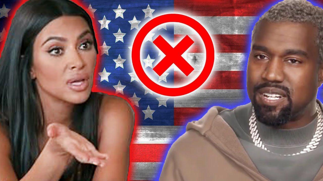 Kim Kardashian Fights Kanye Over Presidential Campaign In 2020 Kim Kardashian Kylie Lip Kit Kardashian