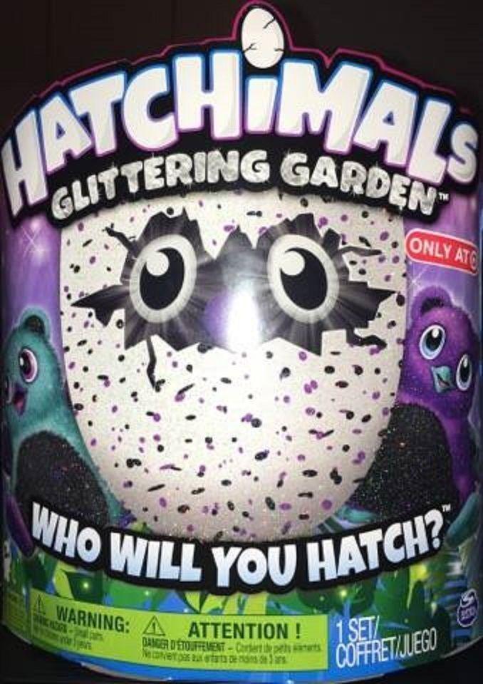 Hatchimals 2017 Glitter Glittering Garden Target Exclusive