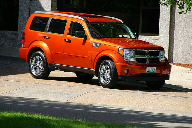 Orange Dodge Nitro Dodge Nitro Sport Cars New Cars