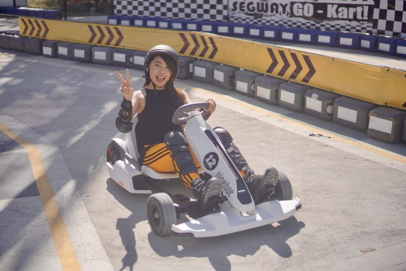 Segway Go Kart Racing At Adventure Zone Star City Go Kart Racing Fashion Lifestyle Blog Kart Racing