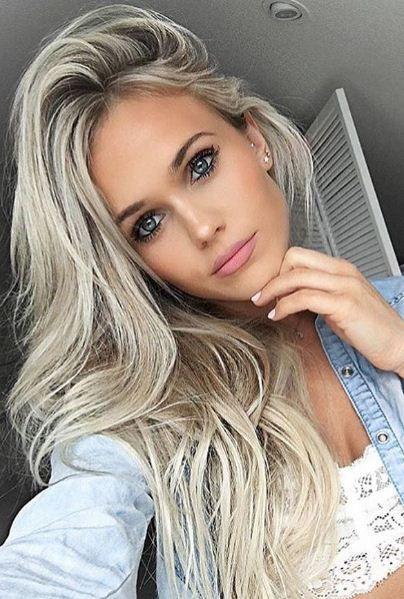 lockige blonde teen babe