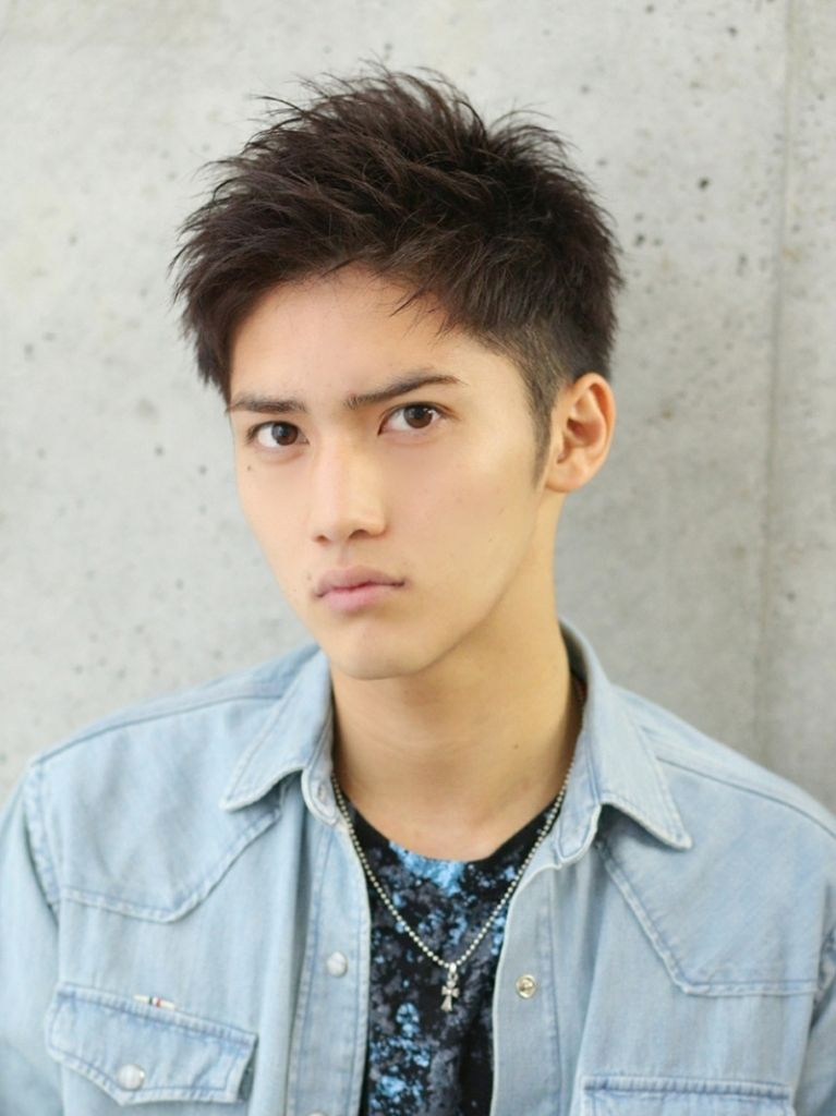 Lipps Mens Hairstyle with かっこいい 髪型 メンズ ショート