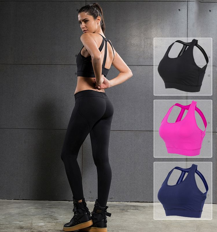 These three back belts bras are made of high elastic