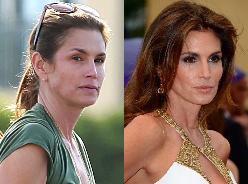 Cindy Crawford from Stars Without Makeup Celebs without