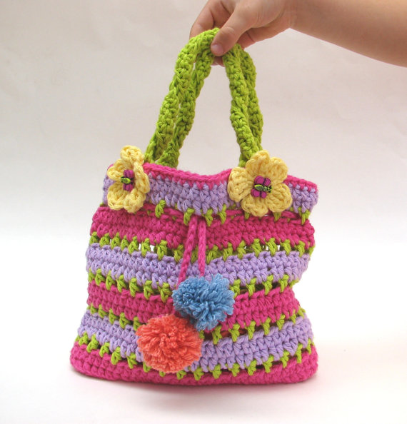 Colorful Girls Bag   Purse efbcdf8671ea8