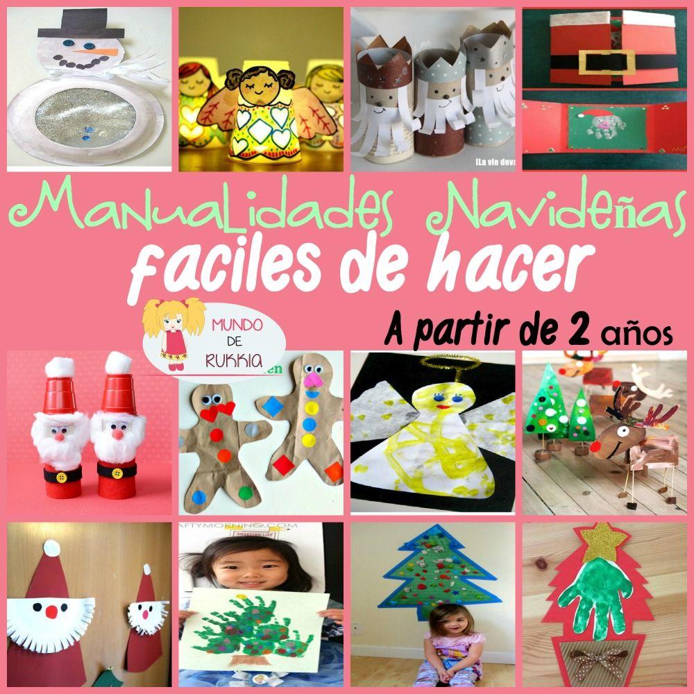 Manualidades navidad manualidades faciles manualidades for Manualidades de navidad para ninos