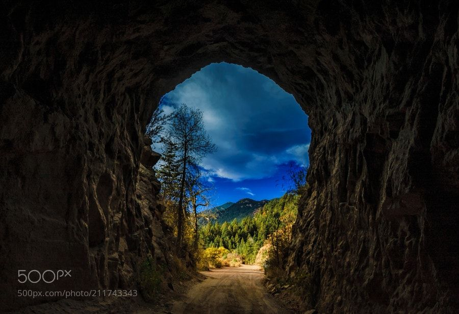The Framing of Mt Rosa - Mt Rosa framed through one of the two ...