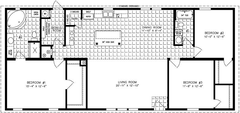Pin by Kelly Yard on New house   Manufactured homes floor ...