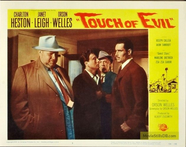 Touch of Evil lobby card