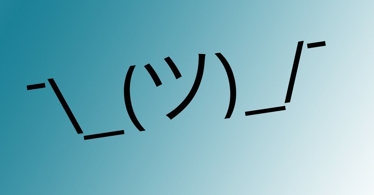 How Did an Obscure Emoji Take Over the Internet? Shrug.