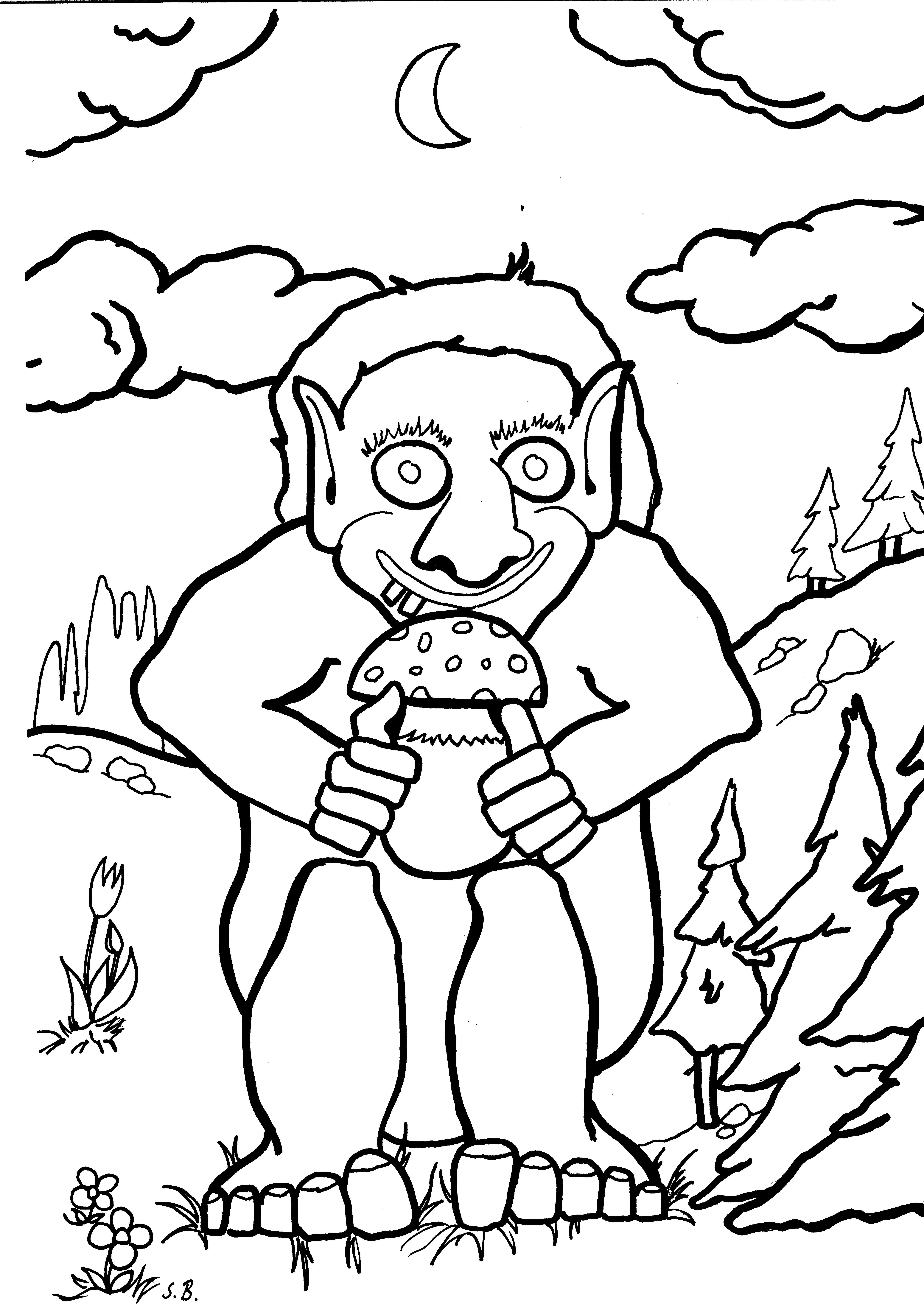 Ausmalbilder Trolls Kostenlos 11 Malvorlage Trolls Ausmalbilder
